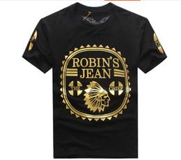 2019 tshirt à fond long En gros 2019 New Robin T-shirt Hommes robin jeans shirts Homme Tshirt Robins hommes approchant robins chemise t-shirt tops puls taille 3XL tshirt à fond long pas cher