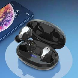 2019 audifonos sony TWS Мини Bluetooth Беспроводные наушники наушники с зарядки Box Спортивные Гарнитуры Android Audifonos для всех умных мобильных телефонов скидка audifonos sony