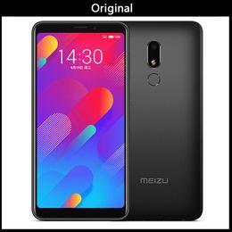 telefones core core core Desconto Original meizu v8 4g lte 3 gb 32 gb versão chinesa m8 lite mtk6739 quad core celular 5.7 polegada HD IPS tela Dual Sim Celular