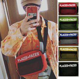 Vita sportiva casuale online-LUOGHI + FACCE Life Skateboards Borse 17ss Borsa a tracolla sportiva da uomo di alta moda casual Designer Messenger Bag