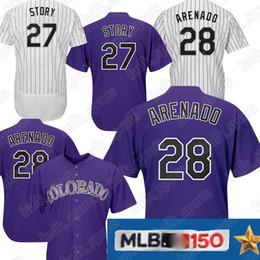 196c43b060 8 Fotos Camisetas de beisbol en venta-Playeras de los Rockies 27 camisetas  de Trevor Story 19