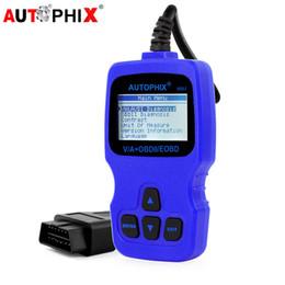 Autophix V007 OBDII Outil de diagnostic Tous les systèmes OBDII EOBD Système moteur HVAC ABS SRS Airbag OBDII Outils de scanner automobile ? partir de fabricateur