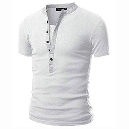 Designer v neck camiseta on-line-T shirt homens verão v neck manga curta camisa cinza escuro designer camiseta tee tamanho m-2xl