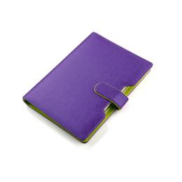 2019 notebook coreano bonito grosso TATCAT A5 Pasta de Couro PU Pasta Diário Mulfuction Manager Pasta de Arquivo Notebook 80 Folhas (caneta não incluída) TPN080