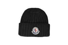 Máscaras de moda on-line-Nova moda francesa mens designers chapéus bonnet gorro de inverno chapéu de lã tricotada além de veludo cap skullies Mais Grosso máscara Franja gorros chapéus homem
