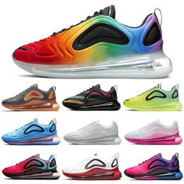 Sapatas da fúria on-line-Nike Air Max 720 Shoes Tênis de corrida para Homens Mulheres Mar Da Floresta do Por Do Sol de Carbono Cinza Mens Formadores Esporte Tênis