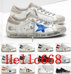 Italien Marke Multicolor Heel Goldene Gans Superstar Designer Turnschuhe der Männer Frauen klassisches Weiß Do alte schmutzige Schuhe Freizeitschuh