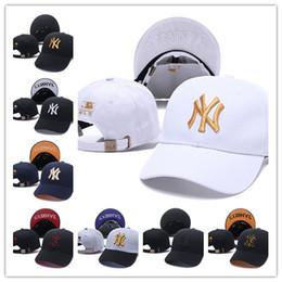 Canada Casquette de Baseball NY Broderie Lettre Soleil Chapeaux Réglable Snapback Hip Hop Danse Chapeau Mode En Plein Air Hommes Femmes Tourisme Casual Caps cheap adjustable hats for men Offre