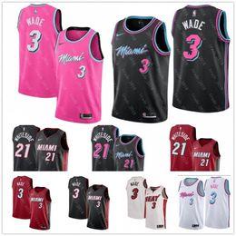 d260b12e1 Discount basketball jersey pink - BEST quality 100% stitched cheap 3 dwayne  jersey wade player s