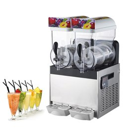 2019 máquinas de neve BEIJAMEI Neve Comercial de fusão Machine / 15L Ice Slusher Bebida Fresca Máquina Dispenser Smoothie elétrica Venda máquinas de neve barato