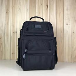 d2 moda Desconto Nylon balístico 26558 D2 novos homens de negócios tumi casual mochila moda laptop sacos de viagem