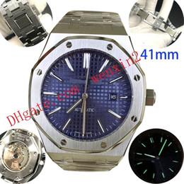 20 Cores de Luxo Relógio Mecânico Para Homens 41mm de Alta Qualidade Relógios Automáticos. Aço Inoxidável Bloqueio Fecho Strap Ultra-fino 12mm Corpo de