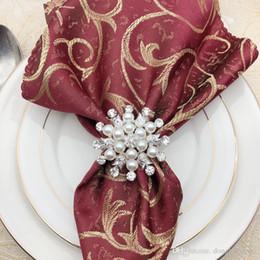 DLM2 brand New элегантные стразы золотые кольца для салфеток кольца для свадебного ужина, душа, праздников, украшения стола аксессуары 200 шт. Wn695D от