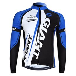 giacca invernale Sconti Autunno Inverno Riding Long Sleeve Mountain Bike T Shirt Abbigliamento ciclismo Uomo e donna Giacca Plus Velluto Mantenere caldo blu 63wt C1
