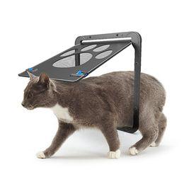 ventana de impresión Rebajas Suministros para mascotas Forma de pata Imprimir Anti-mordida Perros pequeños Perros Puerta de gato para pantalla de ventana Muebles de gato Rascadores RRA1738