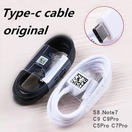 2019 оригинальный кабель для передачи данных samsung Оригинальный USB-кабель для синхронизации данных Тип-c Кабель для зарядки для Note7 S8 N9300 S8edge S8 Pro Кабель EP-DG950CBE Для LG с коробкой дешево оригинальный кабель для передачи данных samsung