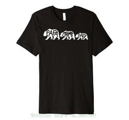 Ours de nouveauté en Ligne-T-shirts pour hommes cool O Neck T-shirt Papa Mama Baby Bear Family Chemise de fantaisie assortie