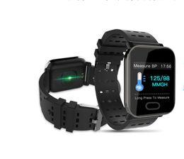 Moniteurs d'oxygène en Ligne-Smart Fitness Track Bracelet Surveillance de la pression artérielle cardiaque Surveillance de l'oxygène dans le sang Affichage de 1,3 pouce Bracelet Smart Fitness Sport Trac
