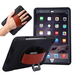 Funda de ipad para trabajo pesado híbrido online-3in1 Hybrid Robot Defender Heavy Duty Funda de tableta a prueba de golpes para iPad mini 1 2 3 4 mini 5 iPad 2 3 4 Air Pro 12.9 2018 Pro 9.7