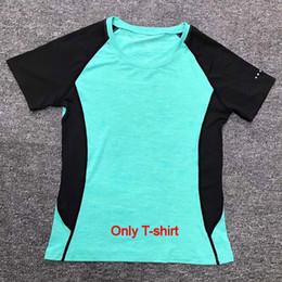 5716219b829b1 Sıcak Yeni 2019 Kadın Spor Giyim Yoga Set Giymek Spor Salonu Spor Takım  Elbise Açık Koşu Koşu Giysileri Eğitim Egzersiz için Çabuk kuru tulum