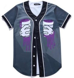 V neck shirts mens on-line-Moda New Arrival T shirt Dos Homens Hip Hop Impressão Designer de Poliéster Com Decote Em V de Manga Curta Mens T-shirts