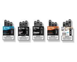 2019 china electronics diretos Original VGOD STIG Descartável Pod Starter Kit 3 Pcs Pacote de 270 mAh Bateria Cartucho de 1.2ml 5 Flavors