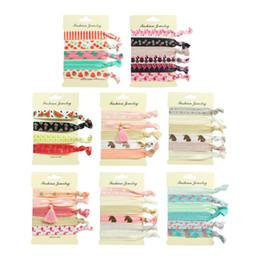 резиновая горничная Скидка 40 шт. печать резиновый головной убор галстук Hairband горничная Partysu Hairband хвост держатель головной убор галстук для девушки ребенок