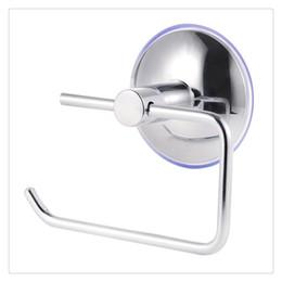 Portarrollos para papel higiénico VLIMG Acero inoxidable de alta ventosa portarrollos Desatascadores y portadesatascadores de inodoro