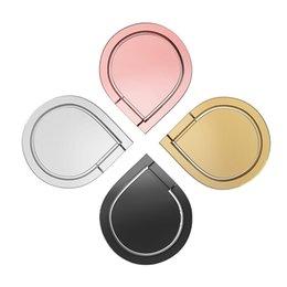 logo de téléphone portable Promotion Support de téléphone de goutte d'eau créative pour iPhone Samsung supports de téléphone portable personnalisation logo métal support de téléphone mobile regarder un film