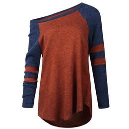 Новые стильные свитера онлайн-New Women Fashion Off Shoulder Oversized Baggy Jumper Sweater Pullovers Stylish Sweater