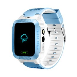 Leshp Gps Smart Watch With Flashlight Baby Watch 1.44 Touch Screen Sos Call Location Device Tracker For Kid Safe Pk Q50 Q100 For Improving Blood Circulation Consumer Electronics Smart Electronics
