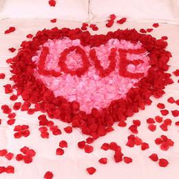 Свадебные сумки онлайн-100 шт. / Пакет 2019 мода искусственный цветок лепесток розы поддельные лепестки украшение брака для валентинки свадьба аксессуары