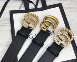 jóias cheias de ouro chinês Desconto homens quentes marca de moda GG fivela moda autêntica cintos projeto de couro V para homens Carta Double H fivela homens mulheres cintos Caixa branca