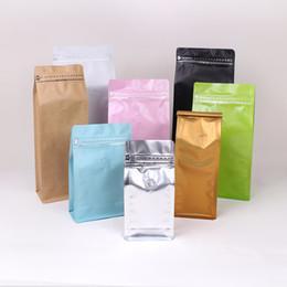 2019 дизайн упаковки кофе Кофейный пакетик с алюминиевой фольгой и клапаном для дегазации дешево дизайн упаковки кофе