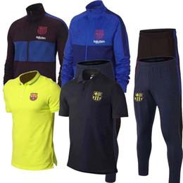 Messi vestito rosso online-2019 SUAREZ Dembele polo Suarez 19 20 PIQUE GRIEZMANN O.DEMBELE jersey Messi Coutinho 2020 verde rosso short tute da allenamento