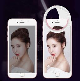 2019 fotos de fisheye Telefone móvel anel clipe selfie anel de preenchimento de luz de flash de luz da lâmpada para a câmera da foto para celular smartphone
