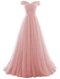 2019 Novo Longo A Linha de Tule Prom Formal Vestido de Noite Formal Prom Party Vestidos 100% Foto Real QC1344 de Fornecedores de roupas brancas para mulheres atacadistas