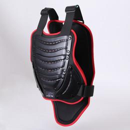 Codo de la chaqueta online-Off-Road Racing Body Armor Chaleco Chaqueta de protección para montar en motocicleta Chaleco Equipo de protección para el pecho Almohadillas de codo