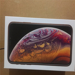accesorios al por mayor uk Rebajas 10 unids venta al por mayor EE.UU. EE. UU. Versión Reino Unido para iPhone XR XS MAX Paquete de teléfono vacío Caja de la caja de embalaje Sin accesorios caja de teléfono protectores