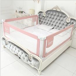 Medidor general online-Cerca de la cama bebés a prueba de caídas cerca de la cama deflector cama para niños 1.2-2.2 metros de elevación vertical general
