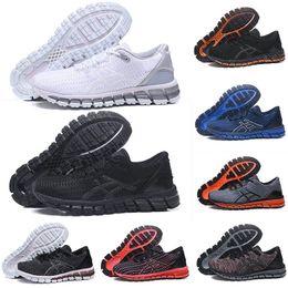 Canada 2019 Asics Gel-Quantum 360 Chaussures de course Gel-Quantum 360 de qualité supérieure SHIFT Stability triple black white Weaves Vamp Buffer Entraîneur sportif 36-45 Offre