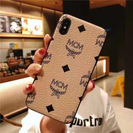 borsa del cellulare di neoprene Sconti Custodia rigida per iPhone IP Cover per telefono X XS MAX XR litchi stria Custodia per iPhone