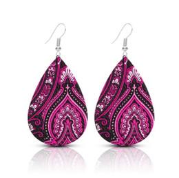 Yeni Varış Klasik PU Deri Gözyaşı Küpe Kadınlar Için Tasarımcı Takı Büyük Bildirimi Küpe Takı Hediyeler Dropshipping cheap new arrival statement earrings nereden yeni varış beyannamesi küpeler tedarikçiler