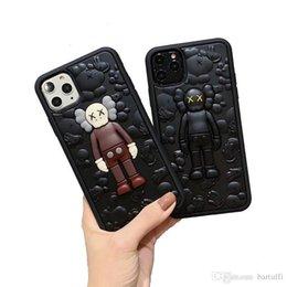 iphone 11 pro max XS XR 8 7 artı Karikatür Retro desen damla koruma kapağı moda tasarımcısı telefon kapak olmak için 11 pro vaka lüks telefon kılıfları nereden blu cep telefonu kutuları tedarikçiler