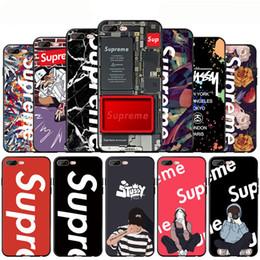 Casse del telefono SUP di marca Top per iPhone Xr Xs MAX 6 7 8 Plus Custodia antiurto in TPU supplier top brands phone case da cassa del telefono delle migliori marche fornitori