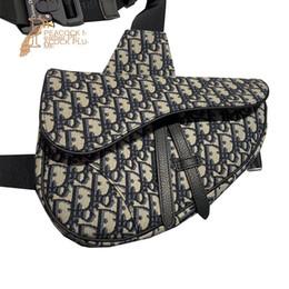 2019 sacchetti di freddo caldi all'ingrosso Buona sella Oblique uomo Tela Leatherwear Oblique Satchel