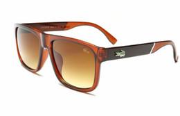 10 STÜCKE Frauen Marke Krokodil Sonnenbrille Mode Beliebte sonnenbrille Günstige UV400 Quadratischen Rahmen Sonnenbrille Occhiali da sohle 826 von Fabrikanten