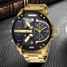 проектирование водных часов Скидка роскошные спортивные военные montres мужские новый оригинальный reloj большой циферблат дисплей дизели часы DZ часы dz7331 DZ7312 DZ7315 DZ7333 DZ7311