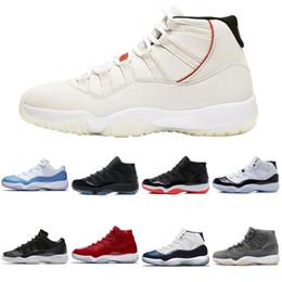 Ночь выпускного вечера 2019 года XI Чикаго Midnight Navy Bred nike Jordan Jordans air jordan 11 Мужчины Женщины повседневная обувь ретро Space Jam Наследница Мужские женские спортивные кроссовки от