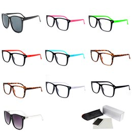 2208ff1a6e7bc Plastic Sunglasses Candy Color Square Clear Frame Reader Glasses Mens  Discount Name Brand Sunglasses Cheap Price Tennis Goggle 2428